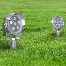bold and modern led garden lights astonishing ideas led garden