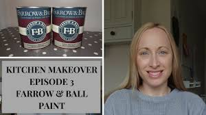 is eggshell paint for kitchen cabinets kitchen makeover how to paint kitchen cabinets in farrow paint episode 3 uk