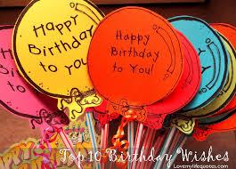top 10 birthday wishes my my 10th birthday