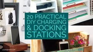build a charging station 20 practical diy charging stations leah nieman
