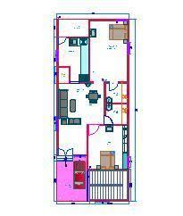 home design for 20x50 plot size house plans for 20x50 1000sqft with west facing enterence