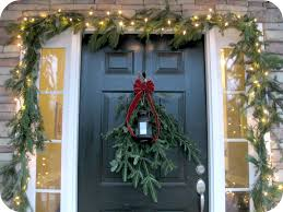 Outdoor Christmas Decorations Home Depot Outdoor Christmas Garland Decorating Ideas Best Kitchen Designs