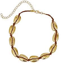 rope necklace choker images Sunscsc handmade summer beach shell conch white velvet jpg