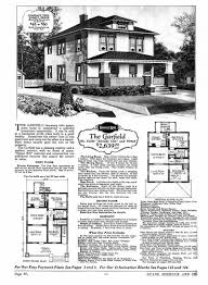 Craftsman Bungalow Plans by Craftsman Bungalow Plans Elevation And Plan View Craftsman