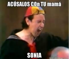 Sonia Meme - acsalos con tu mam sonia meme de kiko chop suey imagenes memes