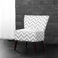 Chevron Accent Chair Dorel Living Chevron Accent Chair Gray White