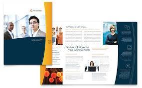 microsoft templates brochure free brochure template word