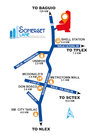 Somerset England Map Filinvest Residential Somerset Lane Houses For Sale