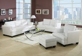 White Living Room Chair White Living Room With Dark Furniture Brown Solid Oak Laminate