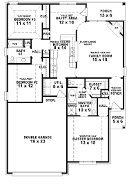 three bedroom two bath house plans house plans three interior for alluring stories corglife