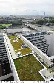 siege social ratp du vert des poules et des écrevisses sur les toits de la ratp