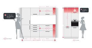 conception cuisine dimension meuble de cuisine schmidt conception de maison in taille