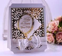 Making Wedding Invitations Anniversary And Wedding Invite Card Making Ideas Amazing Paper Grace