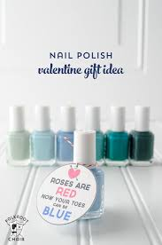Homemade Valentine S Day Gifts For Her by Nail Polish Gift Ideas For Valentine U0027s Day