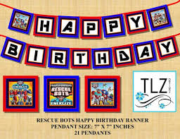 printable transformers birthday banner 55 best rescue bots party images on pinterest rescue bots