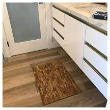 Hardwood Floor Mat Teak Bath Floor Mat Hip O Modern Living Target
