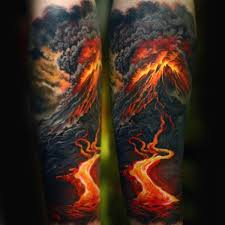 80 fire tattoos for men burning ink design ideas