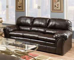 bonded leather sofa u0026 loveseat set w heavily padded back