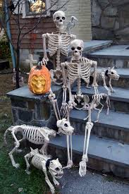 posable halloween skeleton the