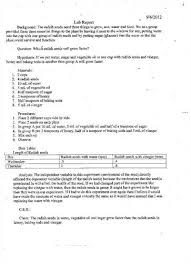 lab report template middle school middle school science lab report stephensons of essex