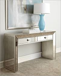 mirrored console vanity table modern mirrored console table design and decor
