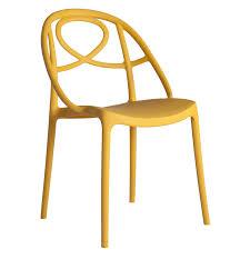 une chaise chaise salle à manger en polypropylène vente en ligne italy