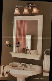 Bathroom Vanity With Shelf by Framed Bathroom Vanity Mirrors With Shelves Home