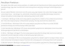 format artikel yang benar bagaimana untuk mendapatkan wang dalam talian di malaysia
