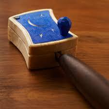 wooden knife sheath for del stubbs hook knife by derek brabender