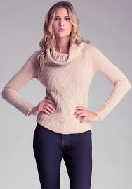 cowl sweater bebe ribbed cowl neck sweater where to buy how to wear