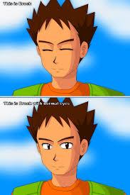 brock opens his eyes pokémon know your meme