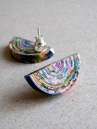 earrings paper the 245 best images about accesorios de papel on paper