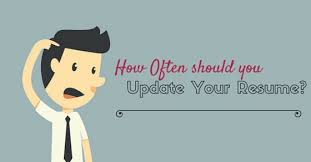 animated resume how often should you update your resume do you know wisestep