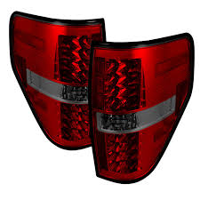2012 ford f150 tail lights 2009 14 f 150 black red smoke led tail lights from spyder are here