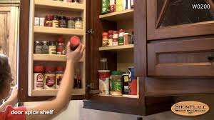 spice cabinets for kitchen spice rack in a wall cabinet showplace kitchen convenience
