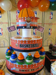 basketball party ideas kara s party ideas slam dunk basketball sports boy 4th birthday