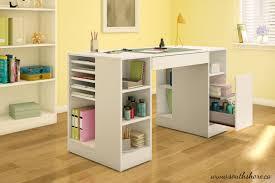 kids craft table with storage kids teens craft art desk plenty storage home art decor 2357