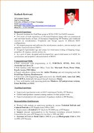 Simple Resume Sample by Simple Resume Samples Free Resume Example And Writing Download
