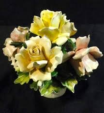 capodimonte basket of roses 450 best capodimonte made in italy images on flower