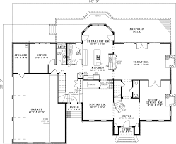 georgian floor plans sugarberry georgian home plan 055s 0098 house plans and more