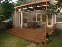Diy Backyard Canopy Triyae Com U003d Deck Canopy Ideas Various Design Inspiration For