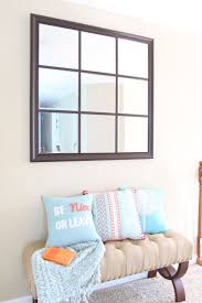 Decorative Mirrors For Living Room by Best 25 Window Pane Mirror Ideas On Pinterest Windows Decor