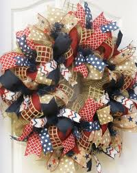 4th of july wreaths diy 4th of july burlap wreath crafthubs