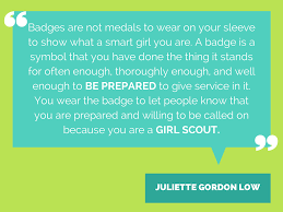 badges are not medals to wear on your sleeve to show what a smart