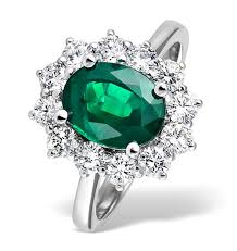 emerald engagements rings images Emerald rings over 150 styles thediamondstore co uk jpg