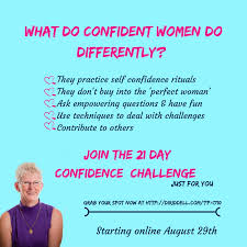 With Challenge The Gift Of Confidence Through A 21 Day Confidence Challenge