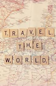 travel photography world journey map Lovely Things