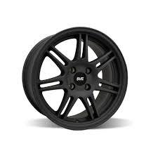 Matte Black 2005 Mustang Ford Mustang Sve Anniversary Wheel 17x9 Flat Black 79 93 392