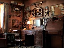 Steampunk House Interior Living Room March Renwick Living Cool Features 2017 Steampunk