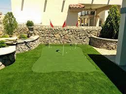 Artificial Backyard Putting Green by Grass Turf Jewett Texas Putting Green Grass Beautiful Backyards
